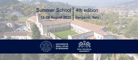 "Towards entry ""Summer School ""Nonlinear Life. Edition 4"" in Bergamo from 18–28 August 2020."""