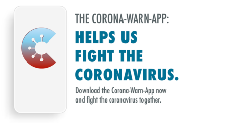 "Towards entry ""The Corona-Warn-App"""