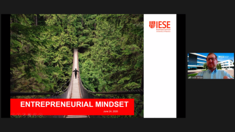 "Towards entry ""Open Talk by Luca Venza: 'The Entrepreneurial Mindset' – online version"""
